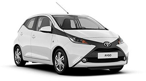 Rent a car in Athens Toyota Aygo